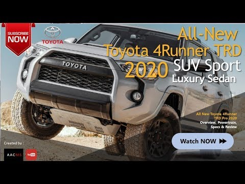 2020 All New Toyota New 4Runner TRD Pro, Concept SUV Sport Off Road2