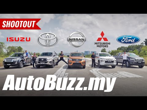 Which Is The BEST Pickup Truck? D-Max, Hilux, Navara, Triton, Or Ranger? - AutoBuzz.my
