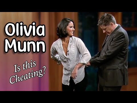 Olivia Munn With Craig Ferguson! (EVERY Interview)