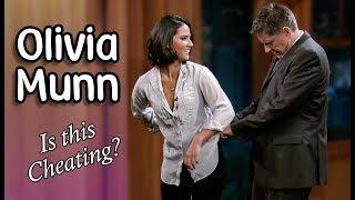 Olivia Munn with Craig Ferguson! (EVERY Interview)