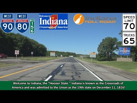 2K14 (EP 19) Interstate 80 & I-90 West: The Indiana Toll Road