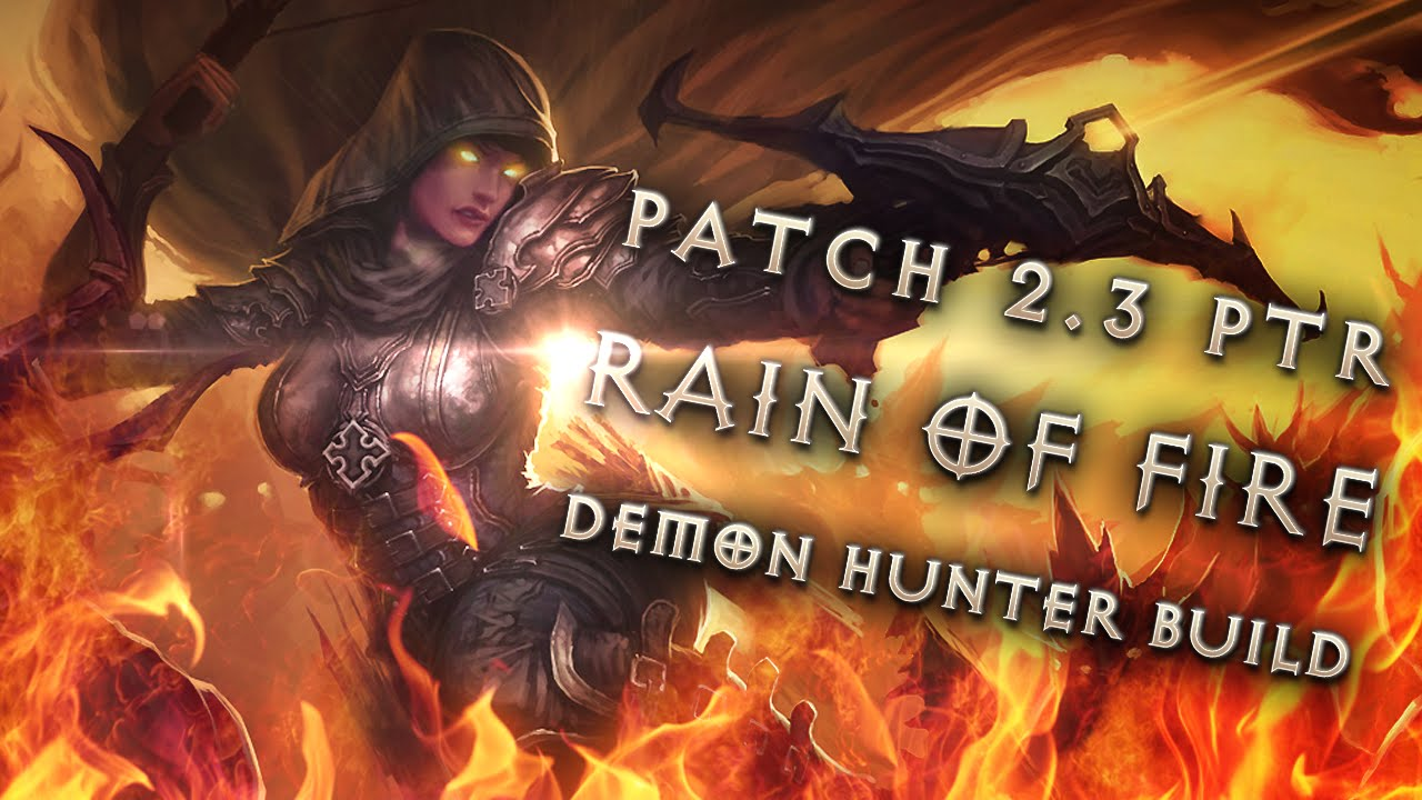 Season  Demon Hunter Rain Of Vengeance Build