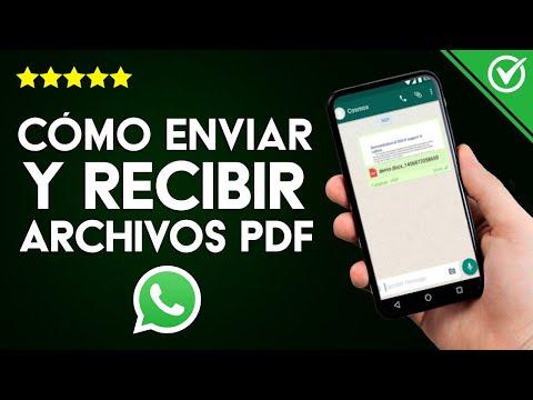 Cómo Enviar, Recibir y Descargar Archivos PDF por WhatsApp ¡Muy Fácil!