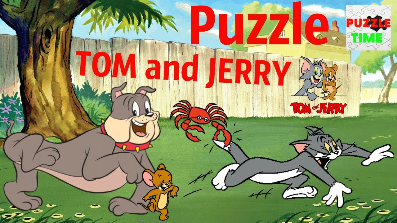 ✅ Puzzle Tom and Jerry ?