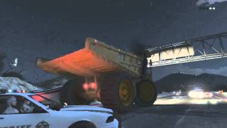 GTA 5 MONSTER DUMP TRUCK SECRET CARS GAMEPLAY+LOCATION !! BIGGEST TRUCK IN GAME!