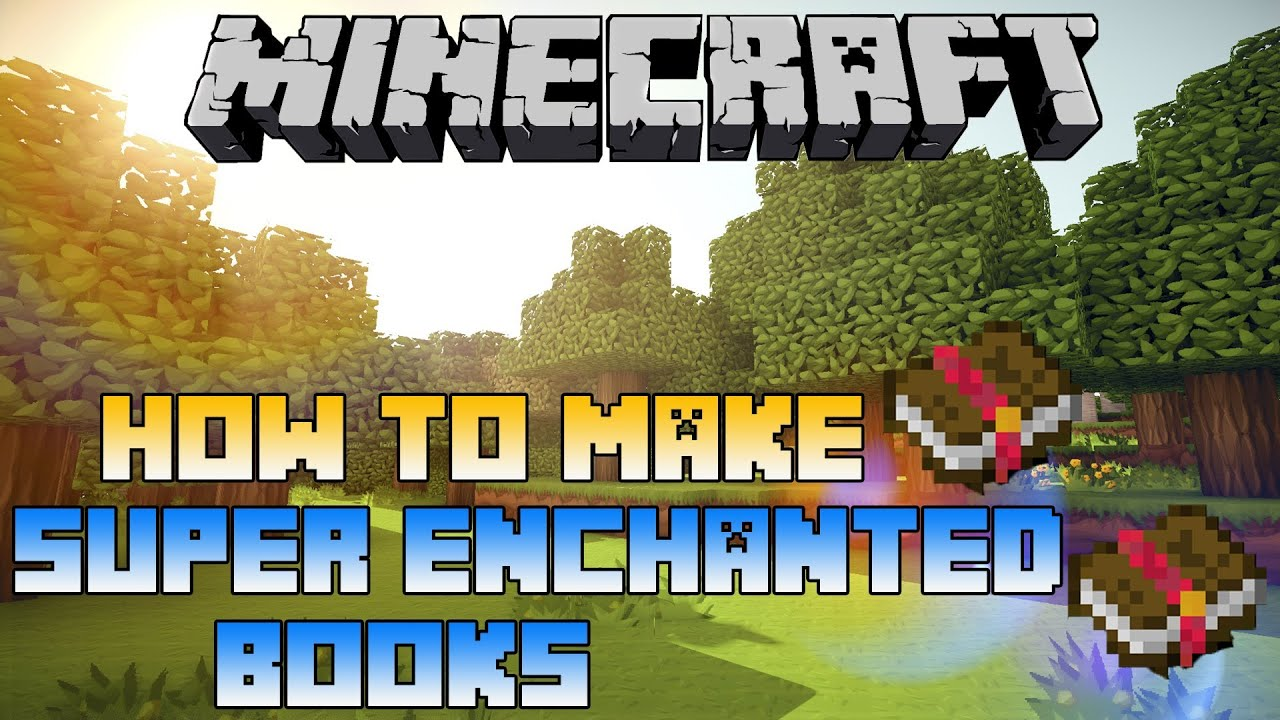 How To Make A Book Minecraft Xbox : Minecraft xbox ps how to make super enchanted