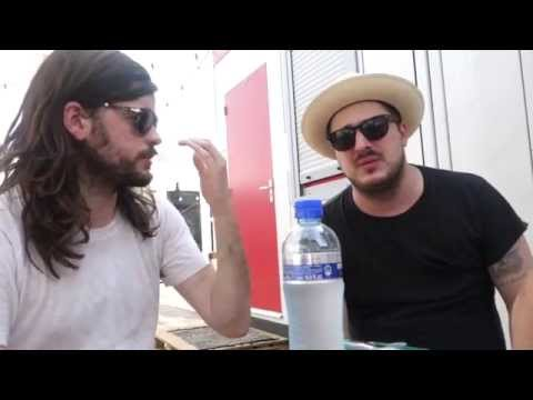 GIELS Mumford & Sons Interview July 2015 Marcus Mumford & Winston Marshall