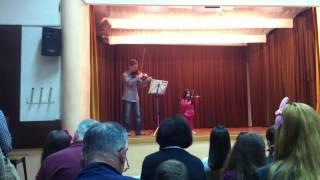 J. S. Bach - Menuett 2