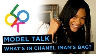What's In Chanel Iman's Bag? Model Talk