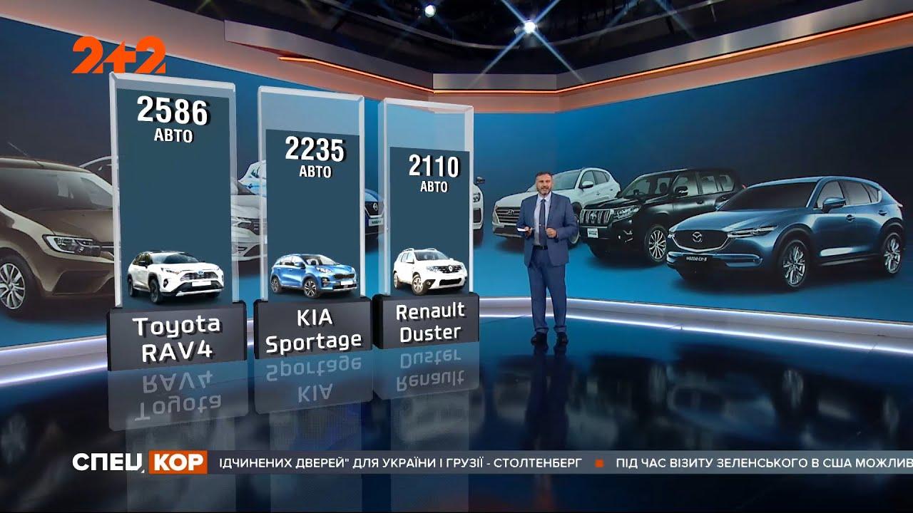 Кросовери витісняють седани: ТОП-10 популярних марок авто, які українці купляли за останній рік