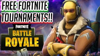 How to enter free Fortnite tournaments- My first Fortnite singles tournament-Fortnite:Battle Royale