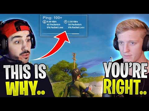 Why Your Ping Is High In Fortnite & How It Could Get Fixed! Ft. Tfue