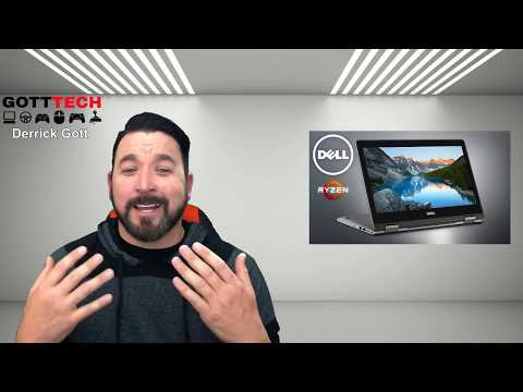 My Review And Thoughts On The Dell Inspiron 13 7000 2-in-1 Laptop. Sponsored By AMD