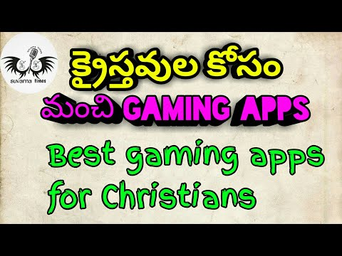 Christian Gaming Apps ||Christian Apps And Games||Telugu Christian Apps
