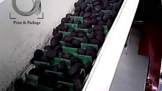 Линия по фасовке угля для мангала в бумажные мешки с последующей зашивкой(Полуавтоматическая линия FP1501 для фасовки угля, овощей, в готовые пакеты. Продукт засыпается в бункер подающ..., 2015-09-15T11:21:46.000Z)