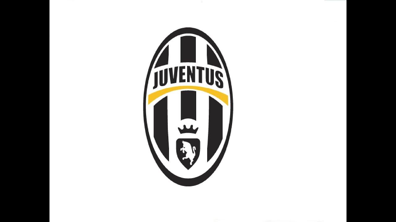 How To Draw A Fc Juventus Logo как нарисовать знак фк