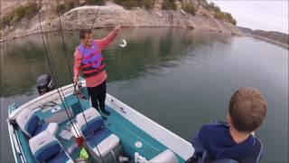 Arizona Striper Fishing - Slaying the Dinks at Lake Pleasant
