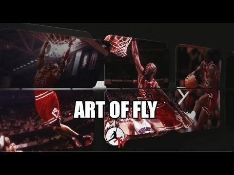MICHAEL JORDAN ART OF FLY