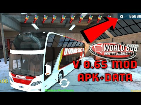 Download World Bus Driving Simulator V0.65 Mod Game(Apk+Data)|WBDS MOD Game Android|  #Smartphone #Android