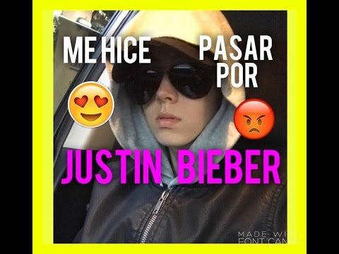 Se hizo pasar por Justin Bieber y revolucionó un shopping