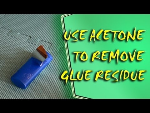 Life Hack - You Can Use Nail Polish Remover to Remove Sticker Residue