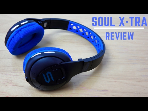 Soul X-TRA Wireless Sport Active Headphones
