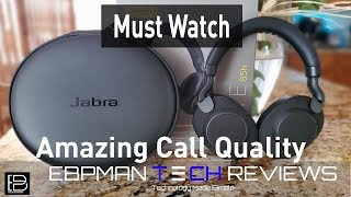 Jabra Elite 85h Review Over 40 Hours of Music    All Features Tested   Call Quality