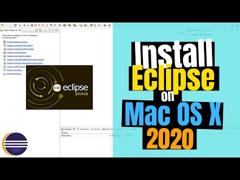 How To Install Eclipse IDE 2019-03 On Mac OS X