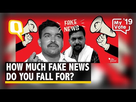 India's WebQoof Quiz: How Much Fake News Do You Fall For? | The Quint