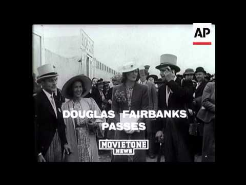 Douglas Fairbanks Dead
