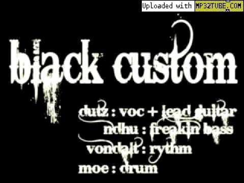 black custom - beli mewali (bali rock alternative)