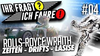 JP Performance - Ihr fragt / Ich fahre! #4 | Rolls Royce Wraith | + Lasise