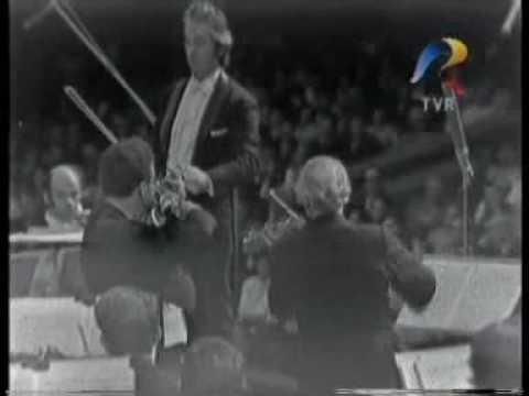 Ion Voicu si  Yehudi Menuhin   1973