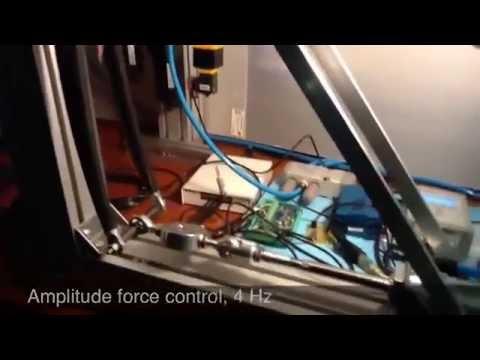 carbon fork pneumatic fatigue test enfield technologies. Black Bedroom Furniture Sets. Home Design Ideas