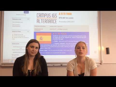 REX : BTS Assistant Manager /Campus IGS Toulouse