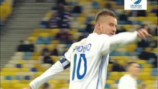 Динамо Киев 2-1 Черноморец Одесса. 17.03.2017. 22-тур. Голы.