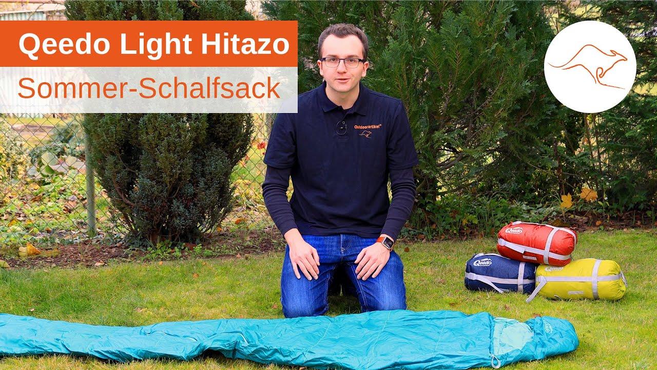 rot Qeedo Light Hitazo Schlafsack