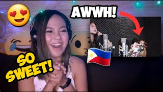 ONE CALL AWAY COVER BY MARIANO AND LEXI - SY MUSIC [KAT MARIANO LEXI & MARGEL] - Reaction