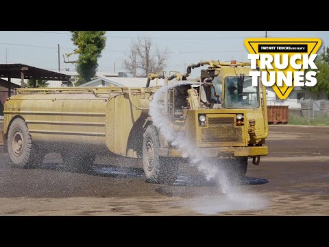 Kids Truck Video - Water Truck