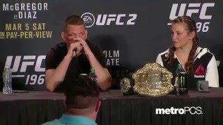 UFC 196: Post-fight Press Conference Highlights