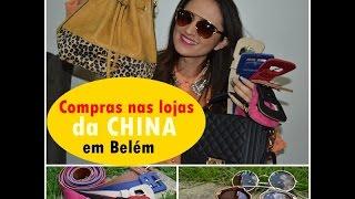 Compras nas lojas da china em Belém-Pará