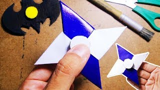 Como fazer um Origami Hand Spinner de Papel | Fidget spinner Shuriken