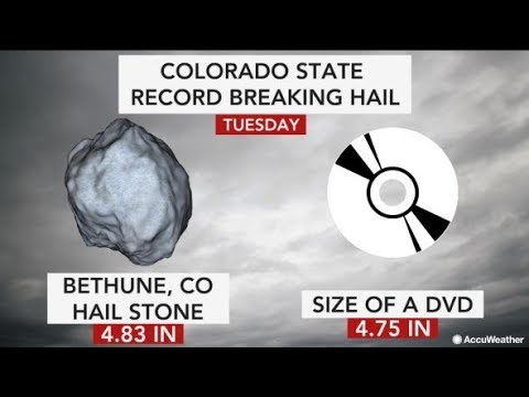Flipboard: Record Hail Confirmed (as predicted) - 2020