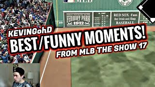 FUNNY/BEST MOMENTS FROM MLB THE SHOW 17! (EP.1)