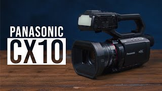 What Makes the Panasonic AG-CX10 Great? | Hands-on Review