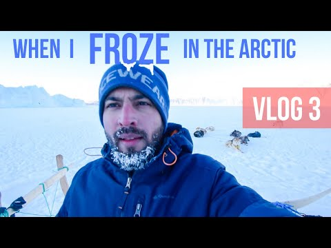 Greenland Country Life Vlog 3 - ARCTIC FISHING FROZE ME. Lit