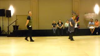 I Got A Woman Line Dance by Michael Desire Nieto Demo @2017 Windy City