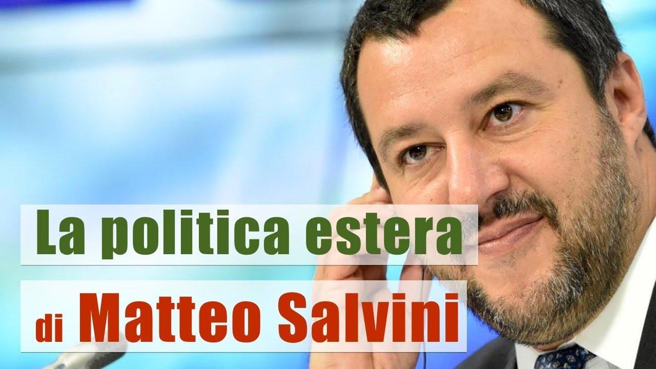[PTV Speciale] La politica estera di Matteo Salvini