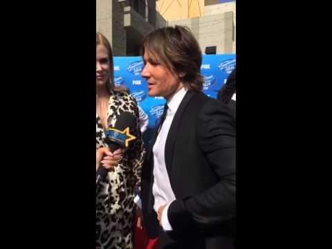 American Idol's Keith Urban Behind The Scenes