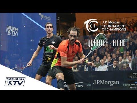 Squash: Tournament of Champions 2018 - Men\'s QF Roundup